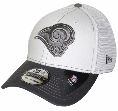 St. Louis Rams New Era 39THIRTY Blitz Neo Fitted Hat - Gray