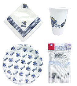 St Louis Rams Party Supplies Pack