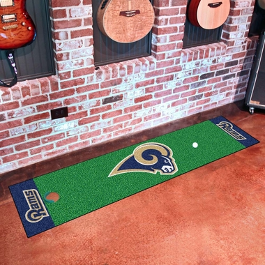 Los Angeles Rams Putting Green Mat