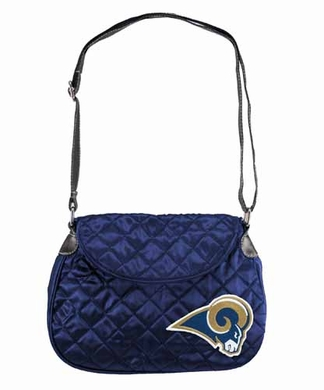 St Louis Rams Quilted Saddlebag