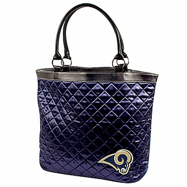 St Louis Rams Quilted Tote
