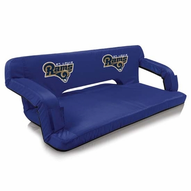 St. Louis Rams Reflex Travel Couch (Navy)