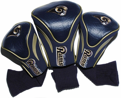 St Louis Rams Set of Three Contour Headcovers