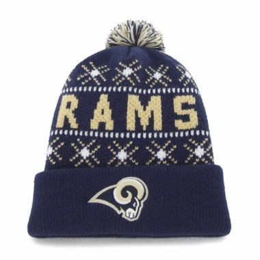St. Louis Rams Tip Off Cuffed Knit Hat