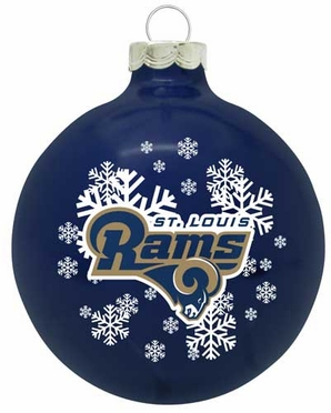 St Louis Rams Traditional Ornament