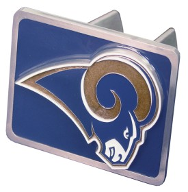 St Louis Rams Trailer Hitch Cover