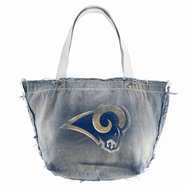 St Louis Rams Vintage Tote (Denim)
