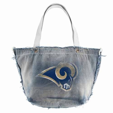 Los Angeles Rams Vintage Tote (Denim)