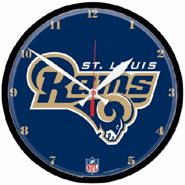 St Louis Rams Wall Clock