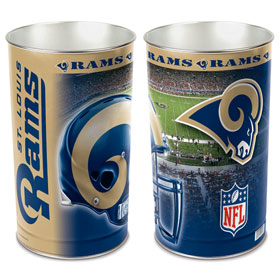 "St. Louis Rams 15"" Waste Basket"
