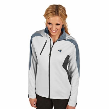 St Louis Rams Womens Discover Jacket (Color: White)
