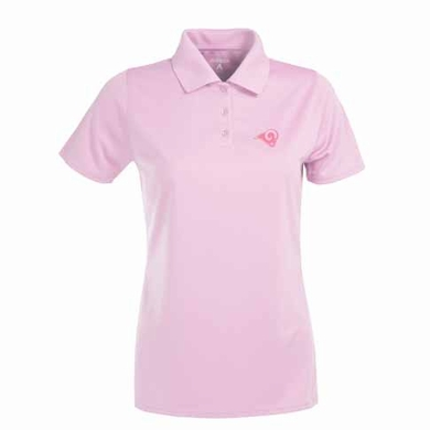 St Louis Rams Womens Exceed Polo (Color: Pink)