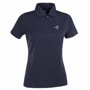 St Louis Rams Womens Exceed Polo (Team Color: Navy)