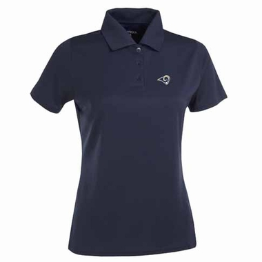 Los Angeles Rams Womens Exceed Polo (Team Color: Navy)