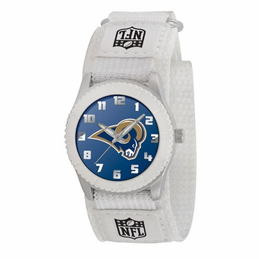 St Louis Rams Youth Rookie Watch (White)