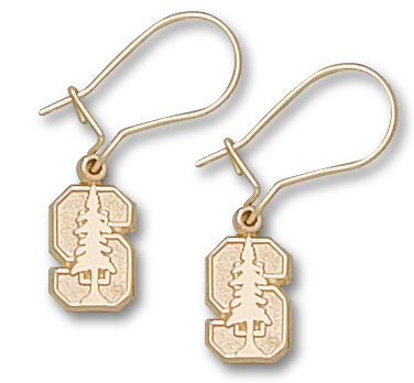Stanford 10K Gold Post or Dangle Earrings
