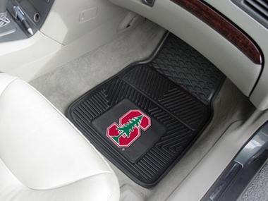 Stanford  2 Piece Heavy Duty Vinyl Car Mats