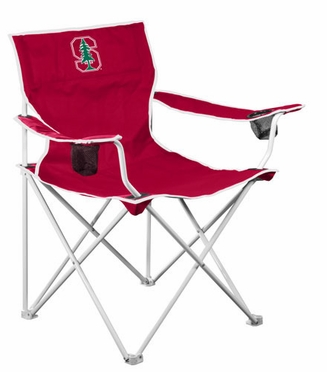 Stanford Deluxe Adult Folding Logo Chair