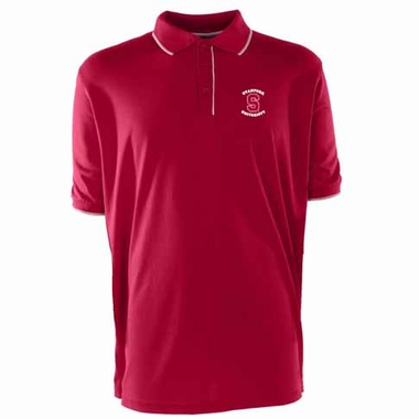 Stanford Mens Elite Polo Shirt (Team Color: Red)