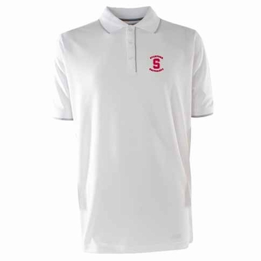 Stanford Mens Elite Polo Shirt (Color: White)