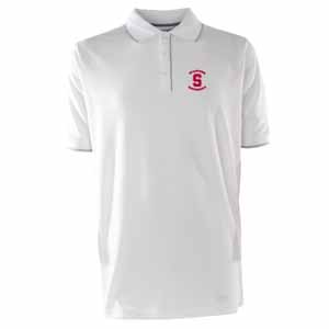Stanford Mens Elite Polo Shirt (Color: White) - Large