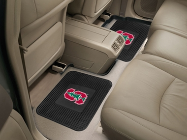 Stanford SET OF 2 Heavy Duty Vinyl Rear Car Mats