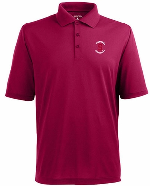 Stanford Mens Pique Xtra Lite Polo Shirt (Team Color: Maroon)