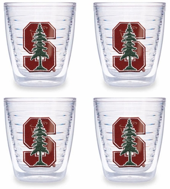 Stanford Set of FOUR 12 oz. Tervis Tumblers