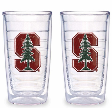 Stanford Set of TWO 16 oz. Tervis Tumblers