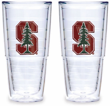 Stanford Set of TWO 24 oz. Tervis Tumblers