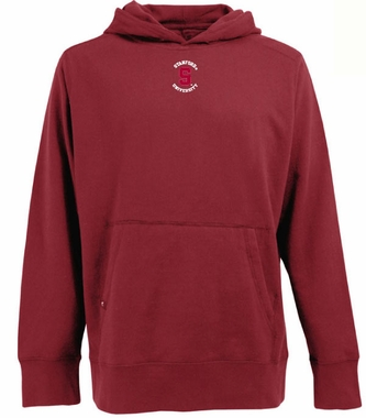 Stanford Mens Signature Hooded Sweatshirt (Team Color: Red)