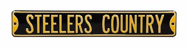 Steelers Country Street Sign