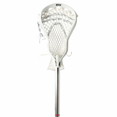 STX AV8U Lacrosse Stick-Attack Color White