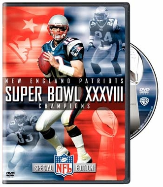 Super Bowl XXXVIII: New England Patriots DVD