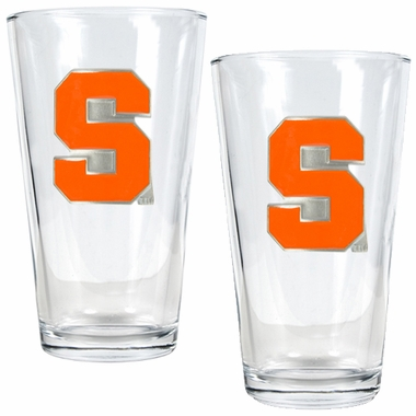 Syracuse 2 Piece Pint Glass Set