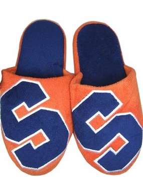 Syracuse 2011 Big Logo Hard Sole Slippers (Two Tone)