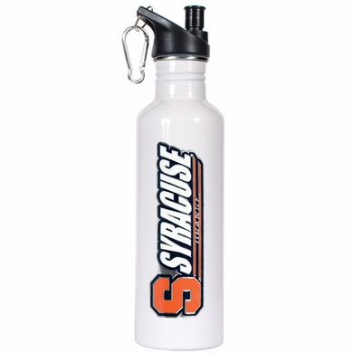Syracuse 26oz Stainless Steel Water Bottle (White)