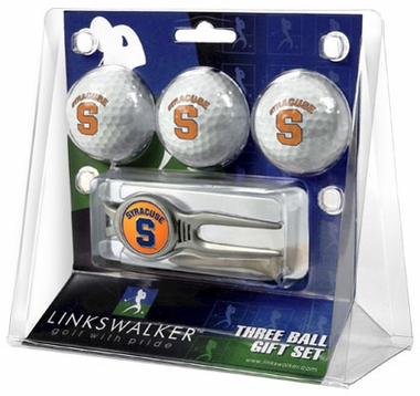 Syracuse 3 Ball Gift Pack With Kool Tool