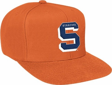 Syracuse Basic Logo Snap Back Hat