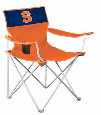 Syracuse Canvas Adult Folding Logo Chair