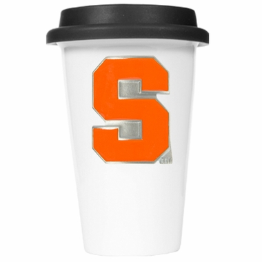 Syracuse Ceramic Travel Cup (Black Lid)