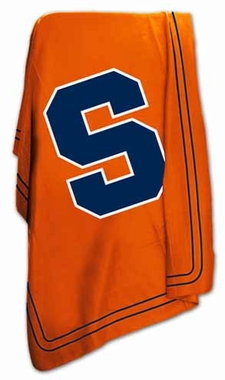 Syracuse Classic Fleece Throw Blanket