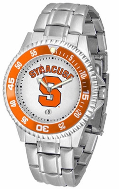 Syracuse Competitor Men's Steel Band Watch