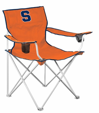 Syracuse Deluxe Adult Folding Logo Chair