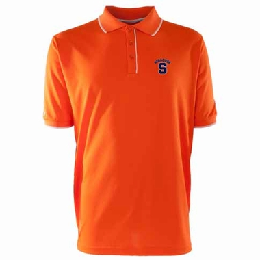 Syracuse Mens Elite Polo Shirt (Color: Orange)