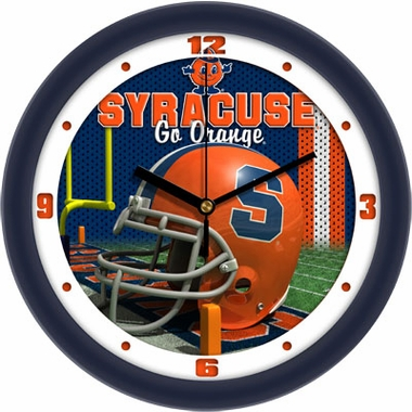 Syracuse Helmet Wall Clock