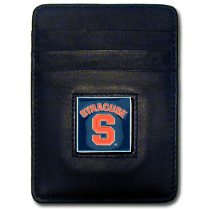 Syracuse Leather Money Clip (F)