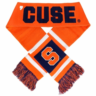 Syracuse Orange 2012 Team Stripe Knit Scarf