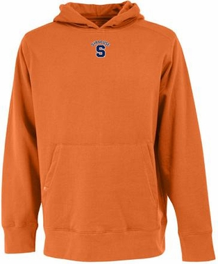 Syracuse Mens Signature Hooded Sweatshirt (Team Color: Orange)
