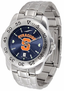 Syracuse Sport Anonized Men's Steel Band Watch